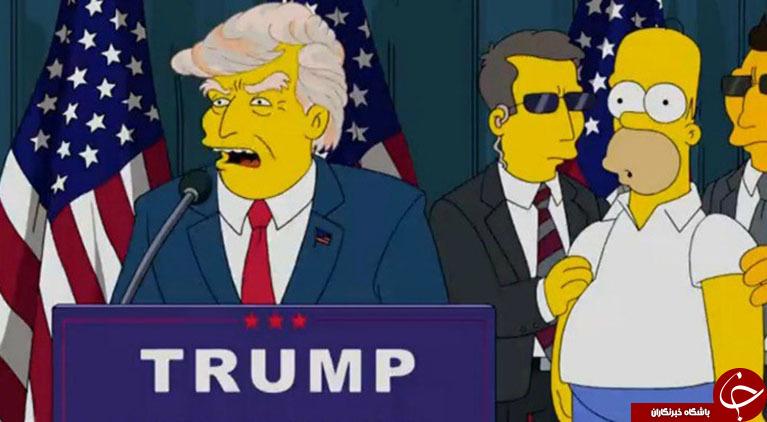 از پیشگویی کرونا تا مرگ ترامپ در سیمپسونها
