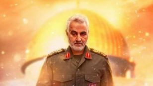 مستند در میانه آتش - اولین و آخرین گفتگوی مطبوعاتی شهید سپهبد قاسم سلیمانی